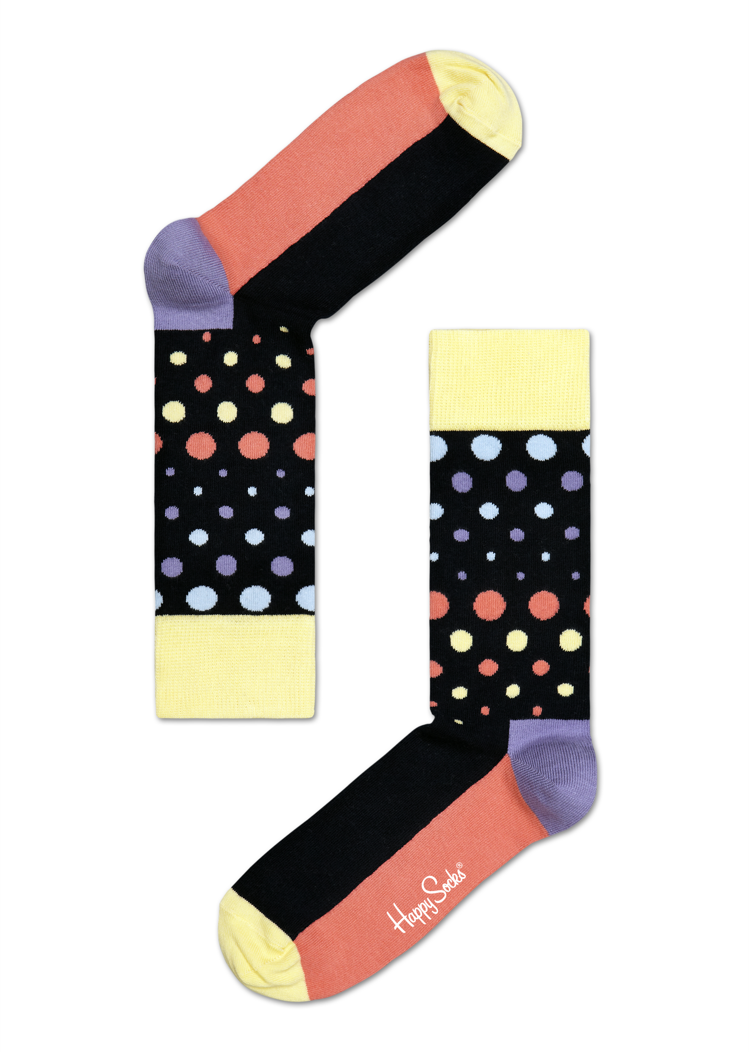 happy socks disco dot
