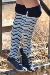 Charlie Blue stripe Sweet Marcel OTK