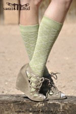 Audrey Green Knee high Sweet Marcel
