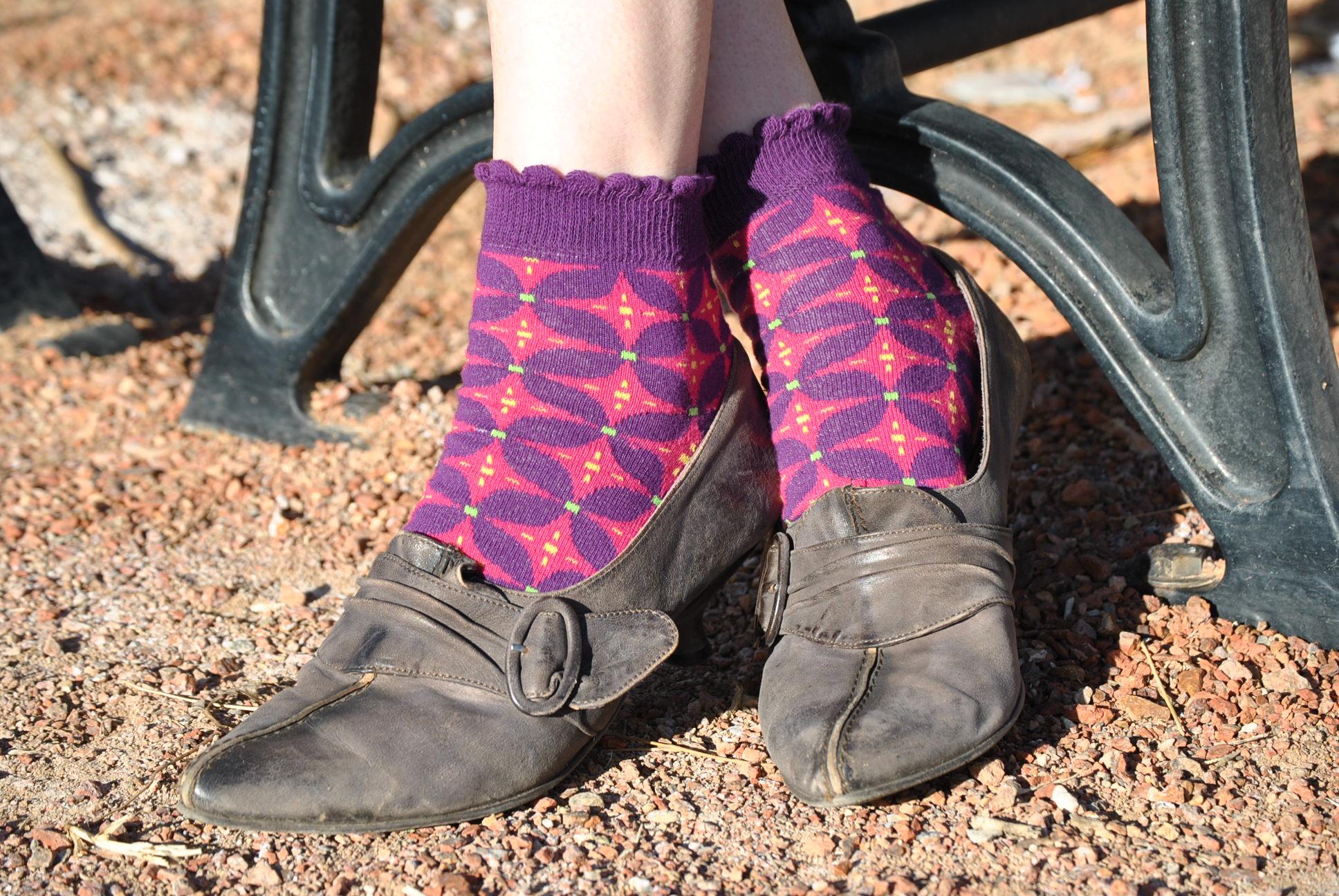 Catherine Pink pinwheel Anklet Sweet Marcel