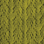 Crochet Crew Socks groene thee tabbisocks