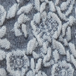 Petal Path Over-the-Knee Socks ivoor-grijs tabbisocks