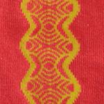 Vintage Lace Over-the-Knee socks oranje tabbisocks
