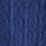 Crochet Crew Socks donkerblauw tabbisocks