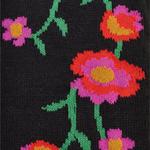 Flower Field arm warmers black tabbisocks