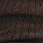Wool Blend Ribbed Leg Warmers dark brown Tabbisocks