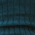 Wool Blend Ribbed Leg Warmers teal Tabbisocks