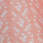 Crochet Over The Knee coral tabbisocks
