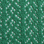 Crochet Over The Knee green tabbisocks