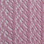 Crochet Over The Knee light pink tabbisocks