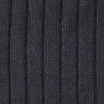 Luxe ribbed knee high navy tabbisocks