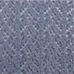 Crochet Crew Socks blue moon tabbisocks