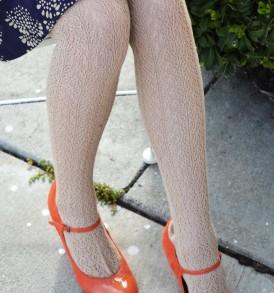 Crochet Over The Knee oatmeal tabbisocks