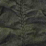 Ruched over the knee olive tabbisocks