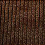 Wool blend ribbed over the knee mocha tabbisocks