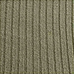 Wool blend ribbed over the knee pale sand tabbisocks
