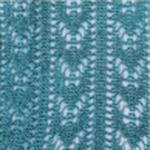 Crochet fashion tights emerald tabbisocks